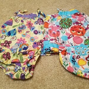 2 Hanna Andersson dresses, 6-12 months